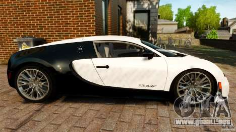 Bugatti Veyron 16.4 Super Sport 2011 [EPM] para GTA 4 left