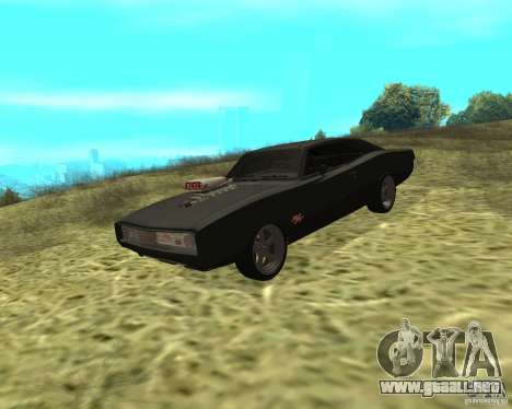 Dodge Charger R/T 1970 para GTA San Andreas