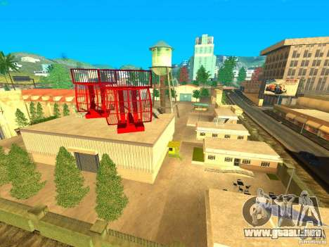New Studio in LS para GTA San Andreas segunda pantalla