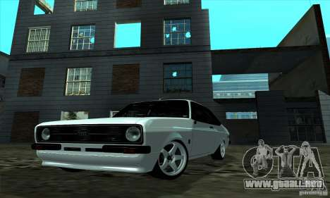 Ford Escort RS 1600 para GTA San Andreas