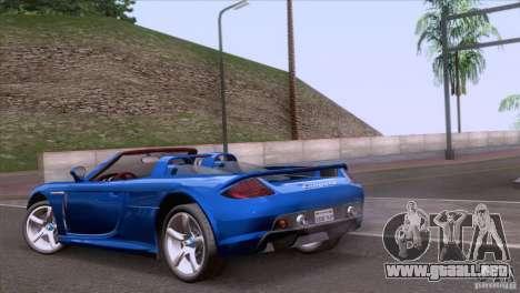 Porsche Carrera GT Custom para GTA San Andreas left
