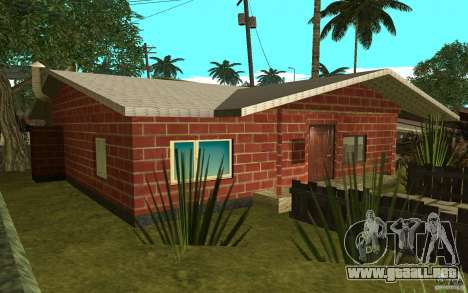 Nuevas texturas casa Denis para GTA San Andreas segunda pantalla