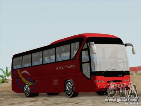 Neoplan Tourliner. Rural Tours 1502 para GTA San Andreas vista hacia atrás
