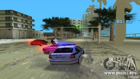 Skoda Octavia 2005 para GTA Vice City vista lateral