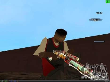 Graffiti Gun Pack para GTA San Andreas sexta pantalla