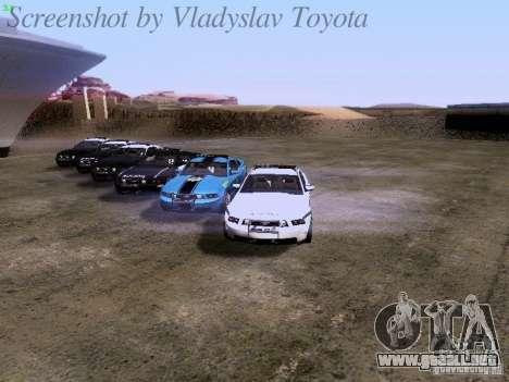 Ford Mustang GT 2011 Police Enforcement para el motor de GTA San Andreas