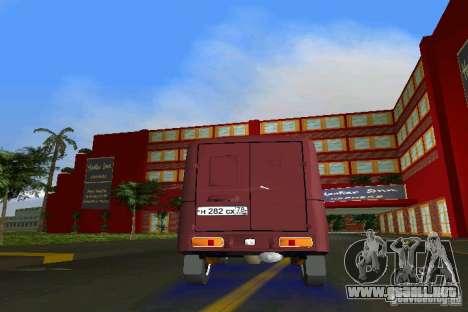 IZH 2715 para GTA Vice City vista interior