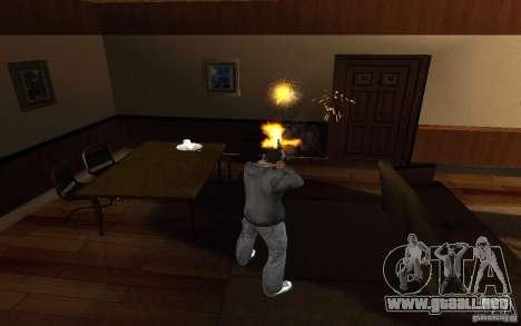 AK-47 desde el juego Left 4 Dead para GTA San Andreas tercera pantalla