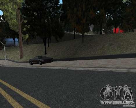 Nuevas texturas de carretera para GTA UNITED para GTA San Andreas segunda pantalla