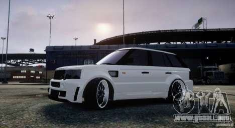 Range Rover Sport RR SCHEARZ para GTA 4 left