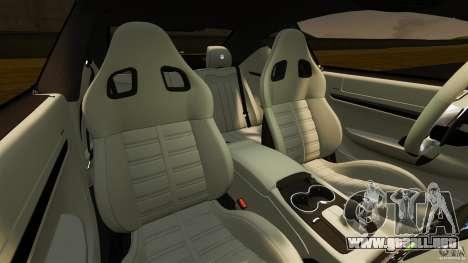 Maserati GT MC Stradale para GTA 4 vista interior