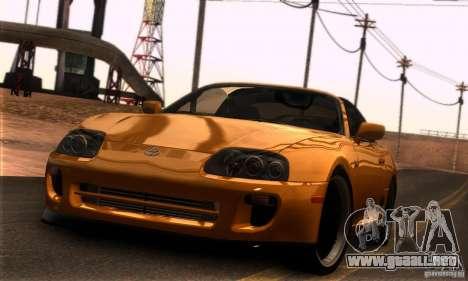 Toyota Supra Targa para GTA San Andreas left