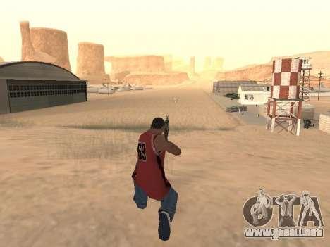 MP5K para GTA San Andreas sucesivamente de pantalla