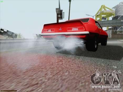 Chevrolet Camaro 1969 para el motor de GTA San Andreas