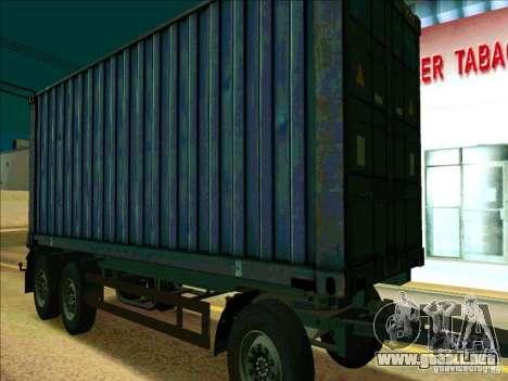 Trailer de Iveco Stralis para GTA San Andreas left