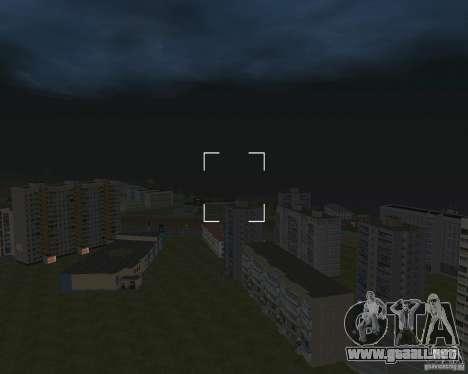 Nižegorodsk v0.5 BETA para GTA San Andreas quinta pantalla