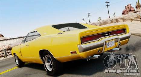 Dodge Charger RT-SE 440 Magnum 1970 EPM v1.1 para GTA 4 left