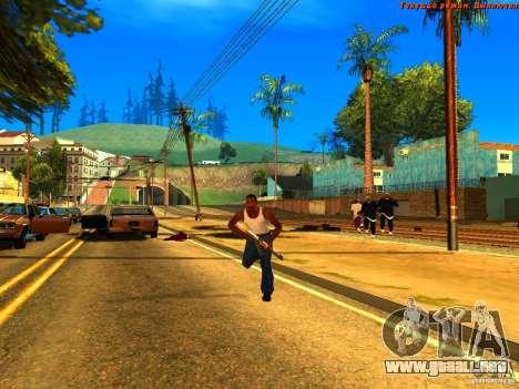 New Animations V1.0 para GTA San Andreas tercera pantalla