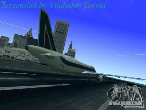 Airbus A320-214 Alitalia v.1.0 para la visión correcta GTA San Andreas