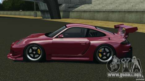 Porsche 997 GT2 Body Kit 2 para GTA 4 left
