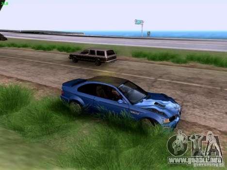 BMW M3 Tunable para visión interna GTA San Andreas