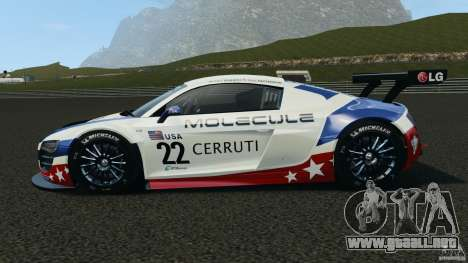 Audi R8 LMS para GTA 4 left