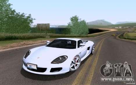 Porsche Carrera GT para GTA San Andreas interior