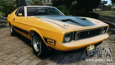 Ford Mustang Mach 1 1973 v2 para GTA 4