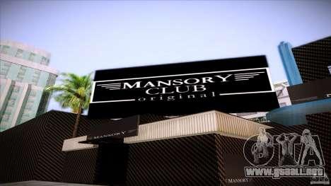 Mansory Club Transfender & PaynSpray para GTA San Andreas tercera pantalla