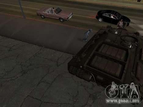 PT-SAU T95 para vista lateral GTA San Andreas