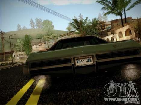 Chevrolet Impala 1972 para la visión correcta GTA San Andreas
