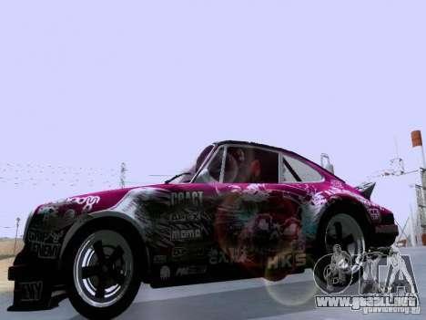 Porsche 911 Pink Power para visión interna GTA San Andreas