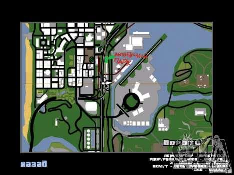 Bus Parque versión v1.2 para GTA San Andreas décimo de pantalla