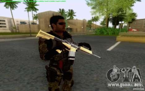 David Mason para GTA San Andreas segunda pantalla