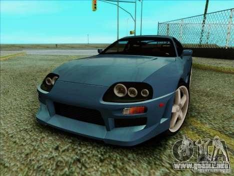 Toyota Supra RZ 1998 para GTA San Andreas left