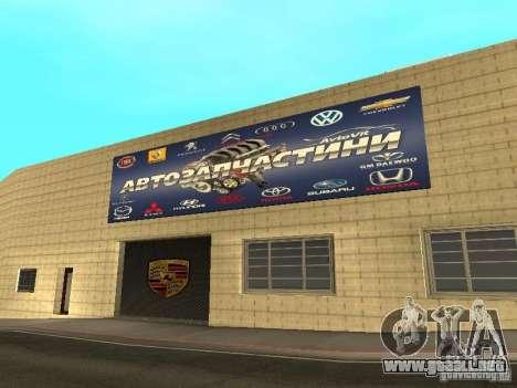Salón del automóvil de Porsche para GTA San Andreas séptima pantalla