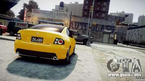 Holden Monaro para GTA 4 left