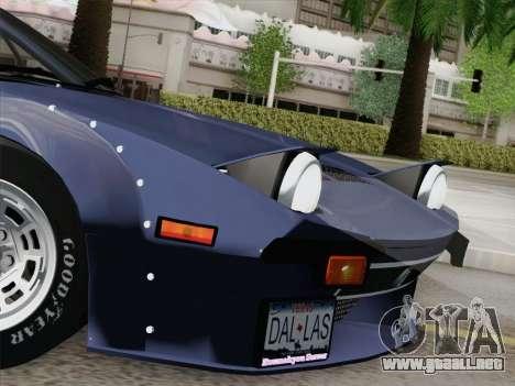 De Tomaso Pantera GT4 para vista inferior GTA San Andreas