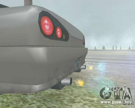 El borrón cuando usando Nitro para GTA San Andreas