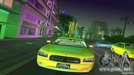 Dodge Charger RT para GTA Vice City vista lateral izquierdo