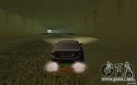 Honda Accord para la visión correcta GTA San Andreas