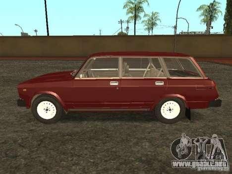 VAZ 2104 v. 2 para GTA San Andreas left