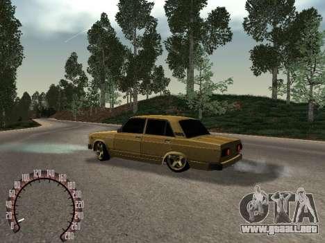 VAZ 2105 oro para GTA San Andreas left