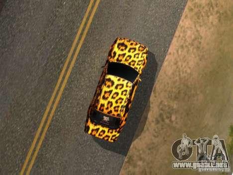 Mercedes-Benz E500 Leopard para la visión correcta GTA San Andreas