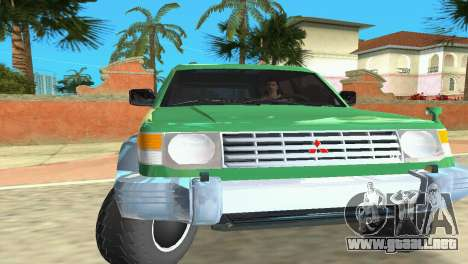 Mitsubishi Pajero 1993 para GTA Vice City left