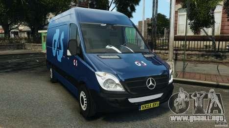 Mercedes-Benz Sprinter G4S ES Cash Transporter para GTA 4