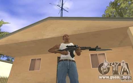 AK 103 para GTA San Andreas tercera pantalla
