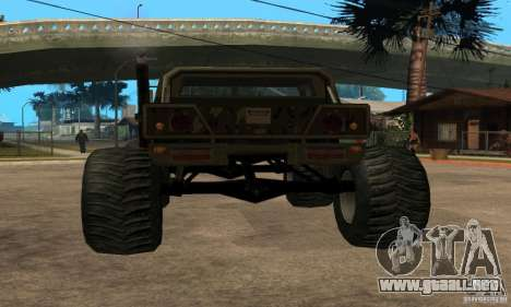 Monster Patriot para GTA San Andreas left