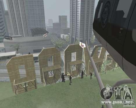 Zona de restricción de Vinewood para GTA San Andreas tercera pantalla