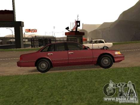 Ford Crown Victoria LX 1994 para GTA San Andreas left